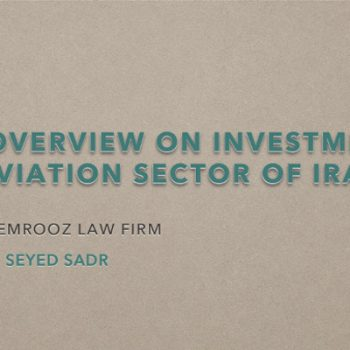 An overview on investment in aviation sector of Iran PP