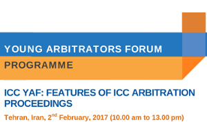 ICC YAF: FEATURES OF ICC ARBITRATION PROCEEDINGS