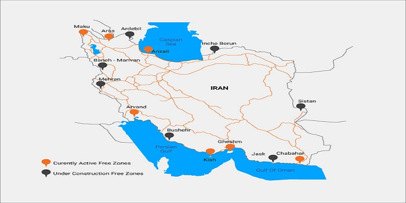 Trade-Industrial Free Zones of Iran